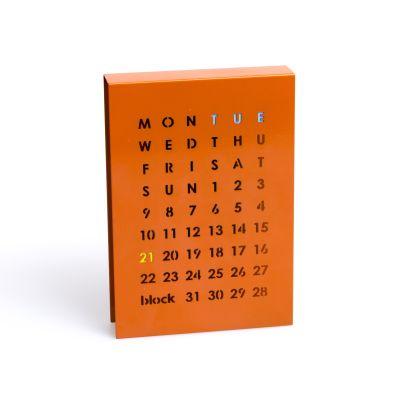 Perpetual Calendar Orange