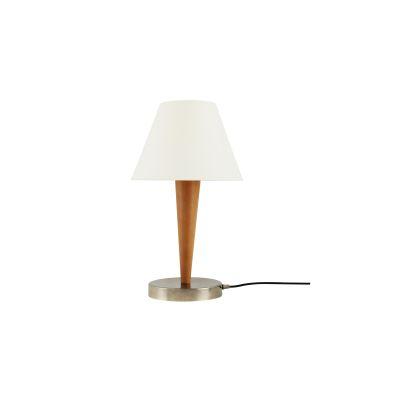 Perth Table Lamp Satin Brass, UL Plug
