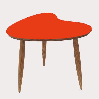 Petal Side Table Petal Table Orange