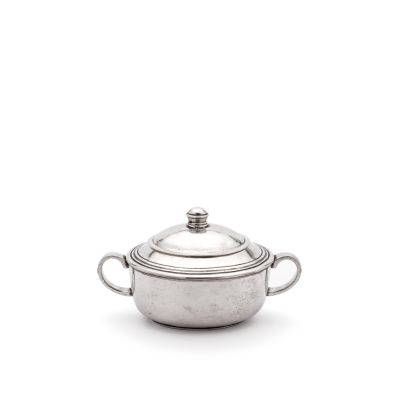 Pewter Sugar Pot