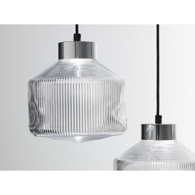 Pharos Pendant Light Silver