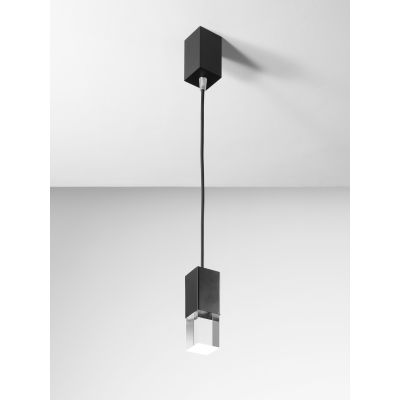Pinco S Pendant Light 150 Chrome, Recessed