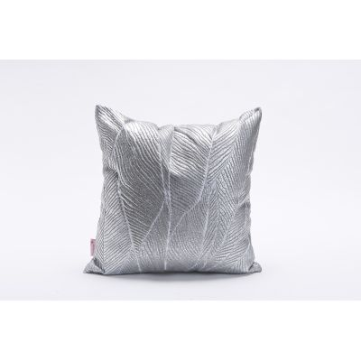 Pinion Square Cushion Cover Silver