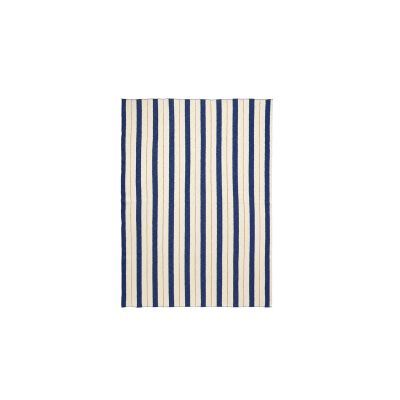 Pinstripe Blanket - Set of 2 Blue
