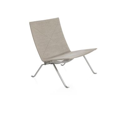 PK22™ Lounge Chair Elegance Leather Black