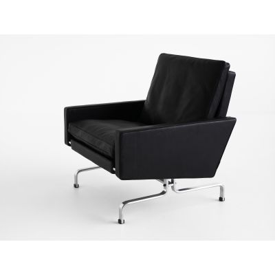 PK31™ Lounge Chair Classic Leather Black