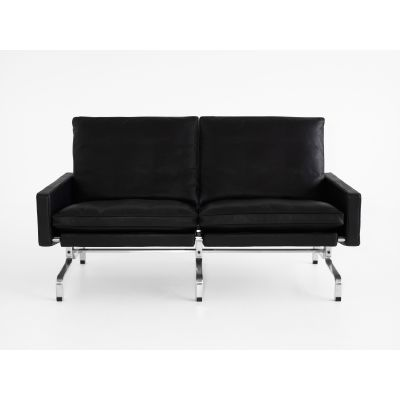 PK31™ 2 - Seater Sofa Classic Leather Black