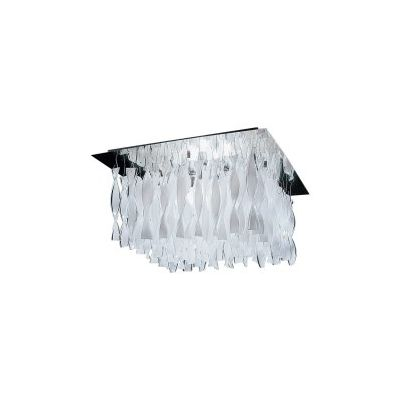 PL AUR G 30 Ceiling Light Rigadin Crystal, Chrome