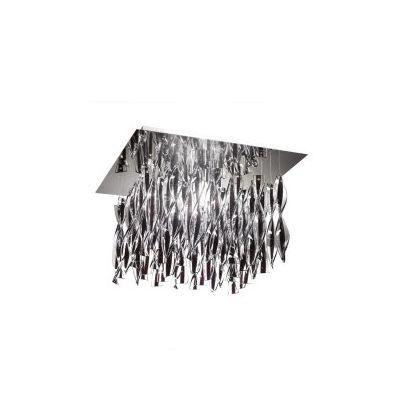 PL AUR P 30 Ceiling Light Rigadin Crystal, Chrome