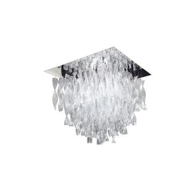 PL AURA GR Ceiling Light Rigadin Crystal, Chrome
