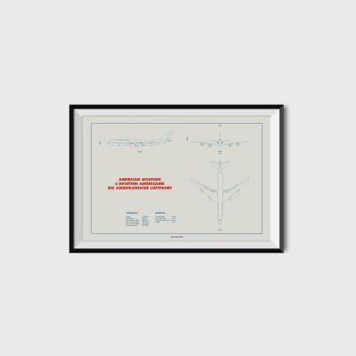 Plan 747 Print