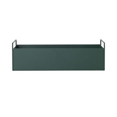 Plant Box - Set of 4 Dark Green