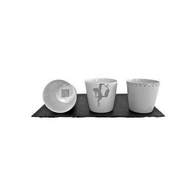 Platinum Cups - Set of 3