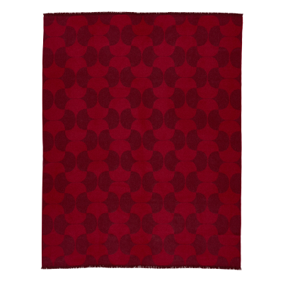 Polette Throw Burgundy