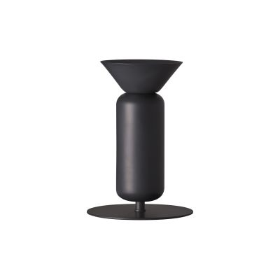 Poppy Skinny Table Lamp Black Grey