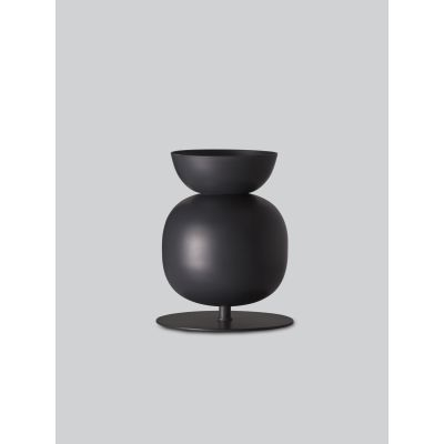 Poppy Bold Table Lamp Black Grey