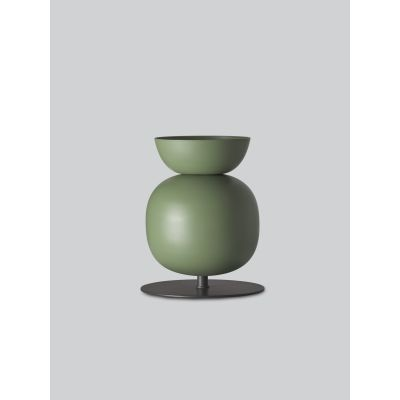Poppy Bold Table Lamp Green