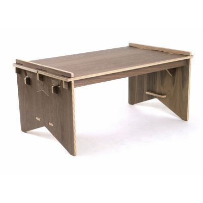 Prima Coffee Table Walnut Top and Legs