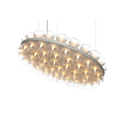 Prop Pendant Light - Double, Round 2700K