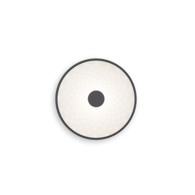 Punto Ceiling Light 125 Fine Textured Anthracite Grey