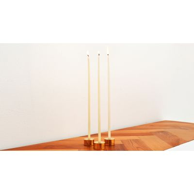 Pure Brass Candle Holders Set