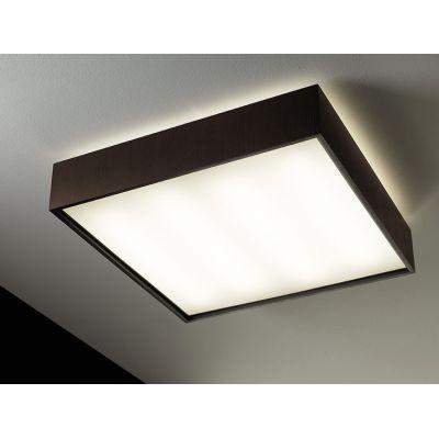 Quadrat  60x60 Fluorescent, Matte White