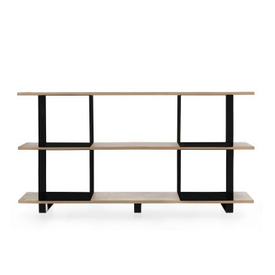 Qubik shelf #2 black cubes