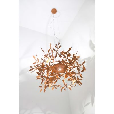 Ramage Pendant Light 117 Fine Textured Oxyde