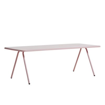 Ray Dining Table Rose Pink