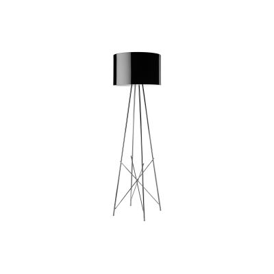 Ray F Floor Lamp F2, Black, Large