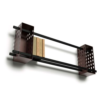 Ray Shelf Modular System DUO-R, Brown