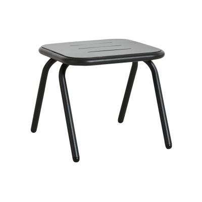 Ray Square Lounge Table - Set of 2 Charcoal Black