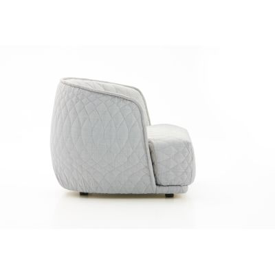 Redondo Armchair A8137 - Units 5 Velours gris