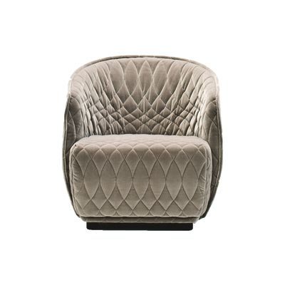 Redondo Small Armchair B0211 - Leather Oil cirè