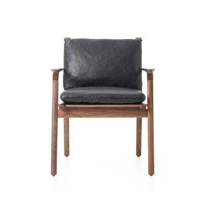 Rén Dining Armchair Wood White Ash, Revive 1 284