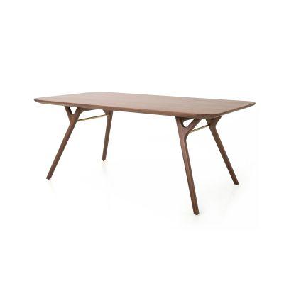 Rén Dining Table Wood Grey Ash, W2100