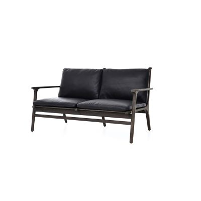 Rén Lounge Two Seater Sofa Wood White Ash, Revive 1 284