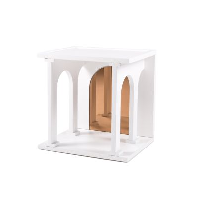 Renaissance Single Bookcase Module White