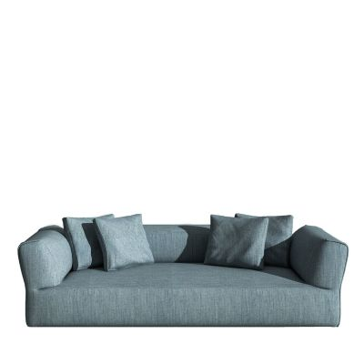 Rever Four-seater sofa Churchill - Polvere