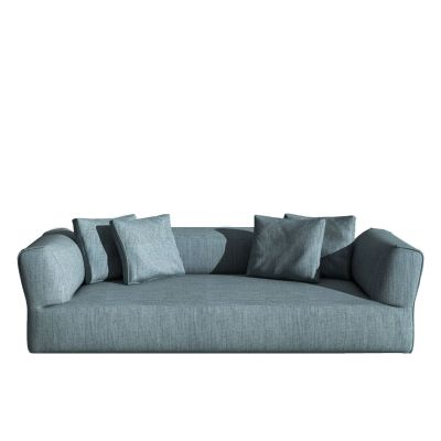 Rever Three-seater sofa Churchill - Polvere