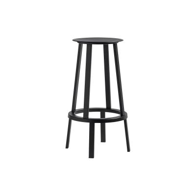 Revolver Bar Stool Black, High