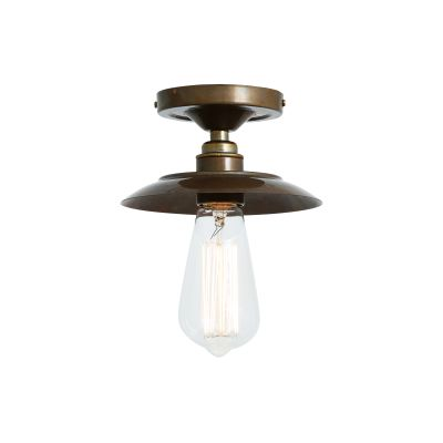 Reznor Ceiling Light Satin Brass
