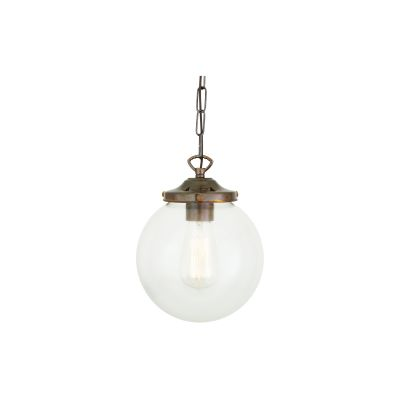 Riad Pendant Light Antique Brass, 20cm