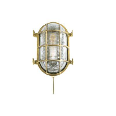 Ross Wall Light Natural Brass
