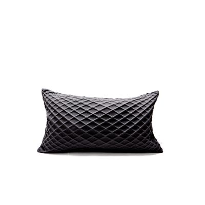 Rotem Rectangular Cushion Cover  Rotem Black