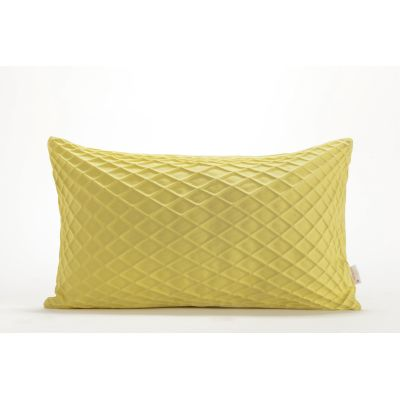 Rotem Rectangular Cushion Cover  Rotem Yellow