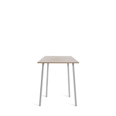 Run High Table Aluminium, Ash, 122cm