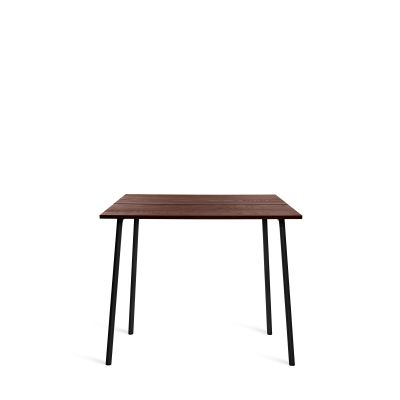 Run High Table Black, Walnut, 183cm