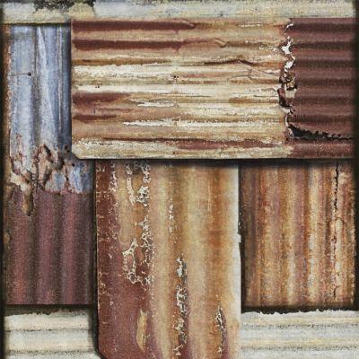 Rusty Tin Wallpaper