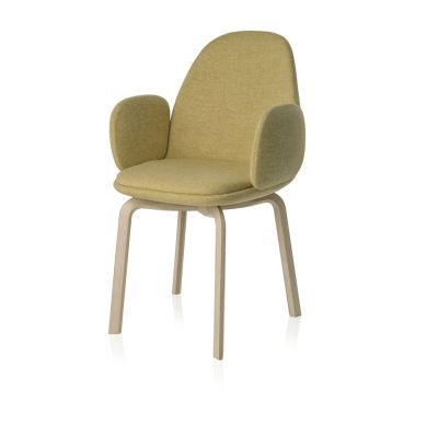 Sammen Armchair Natural Oak, Divina MD 193